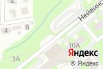 Схема проезда до компании На Нейвинской в Перми