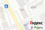 Схема проезда до компании Tikkurila в Перми