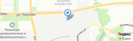 Тары-Бары на карте Перми