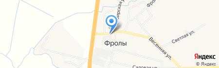 Шиномонтажная мастерская на карте Фролов