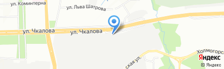 Колеса лайк на карте Перми