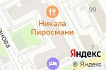 Схема проезда до компании ПРАЗДНИК room в Перми