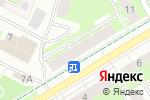 Схема проезда до компании ОКНА ВЕКА в Перми