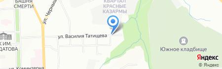 Ант Япы на карте Перми