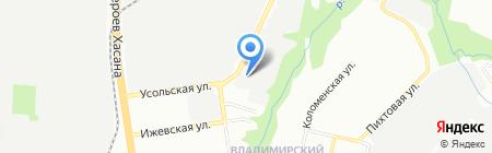 Астера-сервис на карте Перми