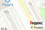 Схема проезда до компании АвтоДеталь в Перми