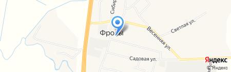 Qiwi на карте Фролов