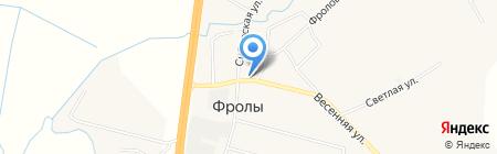 Продуктовый магазин на карте Фролов