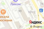 Схема проезда до компании SHOW ROOM ZimfirA в Перми