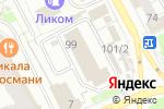 Схема проезда до компании БКТ-Строй в Перми