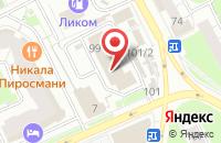 Схема проезда до компании Умка-Пресс в Перми