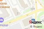 Схема проезда до компании Мираж в Перми