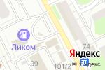 Схема проезда до компании Копейка в Перми