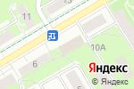 Схема проезда до компании Красная поляна в Перми