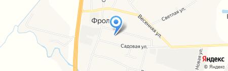 Администрация Фроловского сельского поселения на карте Фролов