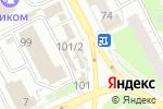 Схема проезда до компании Краснокамский мясокомбинат в Перми