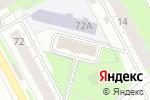 Схема проезда до компании Форпост в Перми