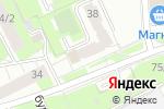 Схема проезда до компании СтройКомфорт в Перми