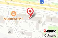 Схема проезда до компании Промприбор в Перми