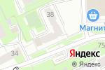 Схема проезда до компании PCmasterPerm в Перми