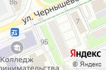 Схема проезда до компании Реклайм в Перми