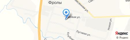 Дом культуры с. Фролы на карте Фролов
