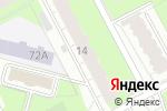 Схема проезда до компании Удача в Перми