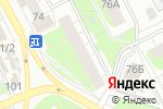 Схема проезда до компании Территория комфорта в Перми
