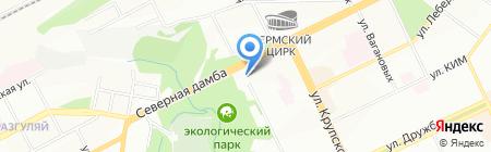 Камень-Элит на карте Перми