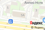 Схема проезда до компании Ювелирное ателье в Перми