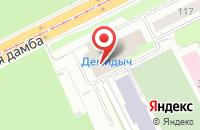 Схема проезда до компании Основа в Перми
