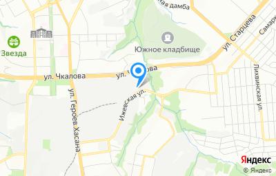 Местоположение на карте пункта техосмотра по адресу г Пермь, ул Ижевская, д 25