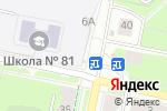 Схема проезда до компании Магазин трикотажа на Краснополянской в Перми
