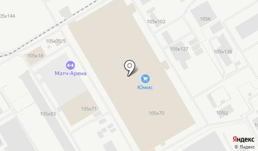 Торговая фирма. Схема проезда в Перми