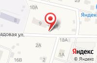 Схема проезда до компании Автомойка на Садовой во Фролах