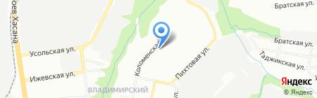 Детский сад №418 на карте Перми