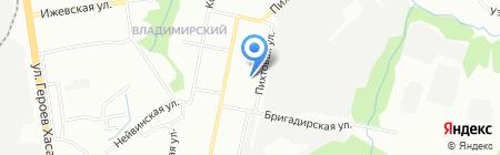 Детский сад №377 на карте Перми