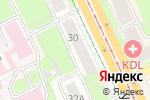 Схема проезда до компании ТИМУР в Перми