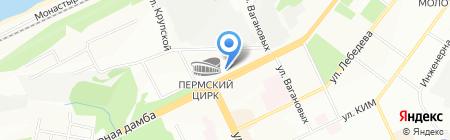 Социальный для всех на карте Перми