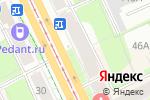 Схема проезда до компании Зверьё МОЁ в Перми