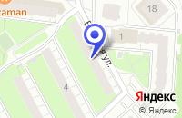 Схема проезда до компании ТФ КОМФОТЕХ в Перми