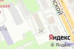 Схема проезда до компании Инженер в Перми