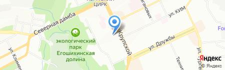 Солнечный город на карте Перми