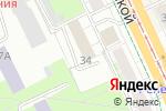 Схема проезда до компании ПИОН в Перми