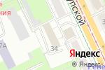 Схема проезда до компании Интерсист в Перми