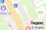 Схема проезда до компании BJJ TEAM PERM в Перми