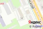Схема проезда до компании Оптком в Перми