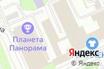 Схема проезда до компании TownHills в Перми