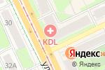 Схема проезда до компании Рената в Перми