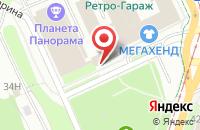 Схема проезда до компании Оптрегионторг в Перми
